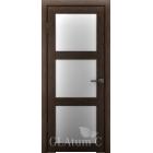 Greenline GLAtum С4 (венге) межкомнатная дверь