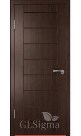 Greenline GLSigma 11 (венге) межкомнатная дверь