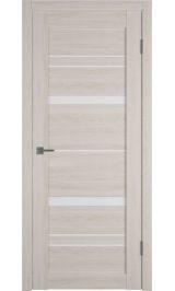 X25 Pro Scansom oak White cloud (бежевый) матовое стекло межкомнатная дверь