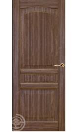 ХОРС-8 ДГ (орех) межкомнатная дверь (Витрина)