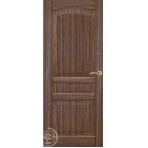 ХОРС-8 ДГ (орех) межкомнатная дверь распродажа 800 мм витрина