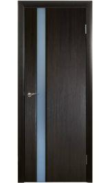 Триплекс-5 (венге) межкомнатная дверь распродажа 800 мм витрина