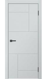 Neo-3213 ясень серый глухая межкомнатная дверь