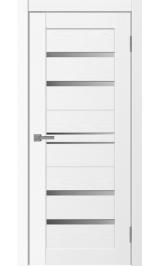 Neo-614 ясень белый стекло матовое межкомнатная дверь