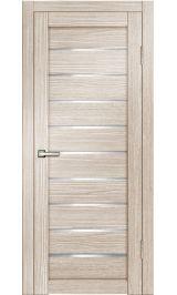 ДО М-12 3D Line Капучино матовое стекло межкомнатная дверь
