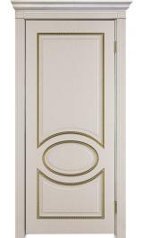 Неаполь ДГ патина золото ПВХ межкомнатная дверь