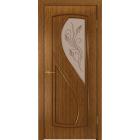 Леди ДО 4 (орех) матовое стекло фьюзинг межкомнатная дверь