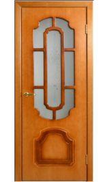 Румакс ДО рисунок (Карелия) межкомнатная дверь (Витрина)