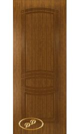 Троя-1 ДГ  (орех) межкомнатная дверь
