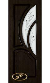 Карелия-2 ДО (мореный дуб) межкомнатная дверь (Витрина)