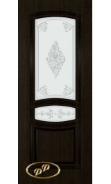 Троя-1 ДО  (мореный дуб) межкомнатная дверь