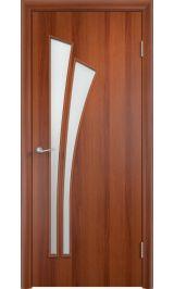 Салют ПО (итальянский орех) межкомнатная дверь