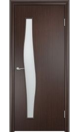 Волна ПО (венге) межкомнатная дверь