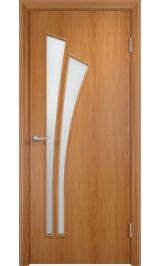 Салют ПО (миланский орех) межкомнатная дверь