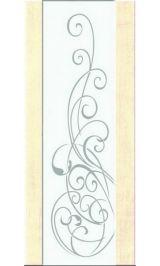 Триплекс 7 (беленый дуб) межкомнатная дверь (Остатки)