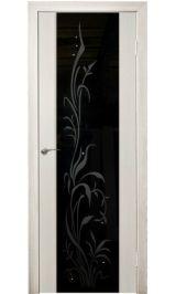 Триплекс 8 (беленый дуб) межкомнатная дверь (Остатки)