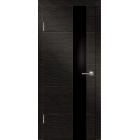 Технолайт 4 венге/черн стекло межкомнатная дверь
