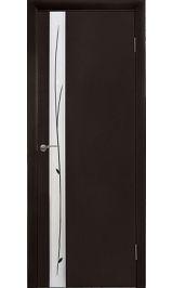 Техно 8 венге межкомнатная дверь