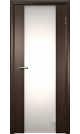 Триплекс-2 темный орех межкомнатная дверь распродажа (Витрина)