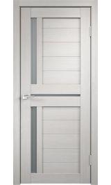 DUPLEX 3 Дуб беленый матовое стекло межкомнатная дверь