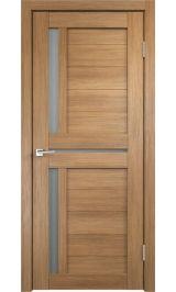 DUPLEX 3 Золотой дуб матовое стекло межкомнатная дверь