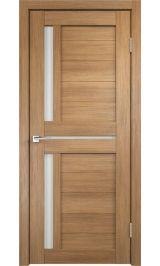 DUPLEX 3 Золотой дуб молочное стекло межкомнатная дверь
