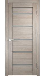 DUPLEX Капучино матовое стекло межкомнатная дверь