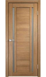 DUPLEX 2 Золотой дуб матовое стекло межкомнатная дверь