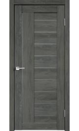 Linea 3 Дуб шале графит матовое стекло межкомнатная дверь