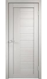 Linea 3 Дуб беленый молочное стекло межкомнатная дверь