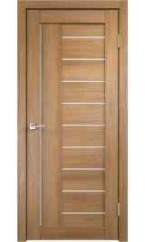 Linea 3 Золотой дуб молочное стекло межкомнатная дверь