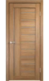 LINEA 3 Золотой дуб матовое стекло межкомнатная дверь
