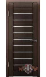 Л3ПГ4 ультра белое (венге) межкомнатная дверь (Витрина)