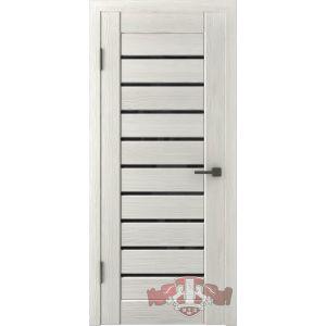 Л3ПГ5 ультра черное (беленый дуб) межкомнатная дверь