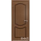 Классика 2ДГ3 (орех) межкомнатная дверь