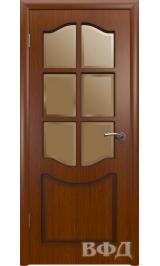 Классика 2ДР2* макоре (красное дерево) межкомнатная дверь