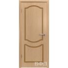 Классика 2ДГ1* (светлый дуб) межкомнатная дверь