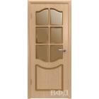 Классика 2ДР1* (светлый дуб) межкомнатная дверь