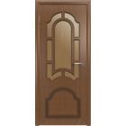Кристалл 3ДР3 (орех) межкомнатная дверь