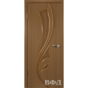 Лилия 5ДГ3 (орех) межкомнатная дверь