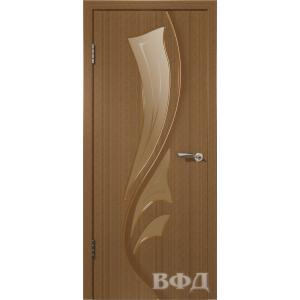 Лилия 5ДО3 (орех) межкомнатная дверь