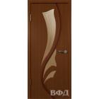Лилия 5ДО2 макоре (красное дерево) межкомнатная дверь
