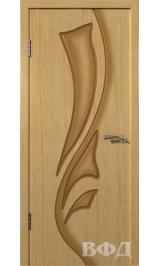 Лилия 5ДГ1 (светлый дуб) межкомнатная дверь