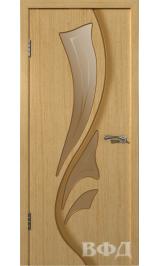 Лилия 5ДО1 (светлый дуб) межкомнатная дверь