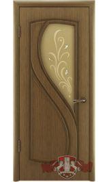 Грация 10ДО3 (орех) межкомнатная дверь