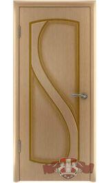 Грация 10ДГ1 (светлый дуб) межкомнатная дверь