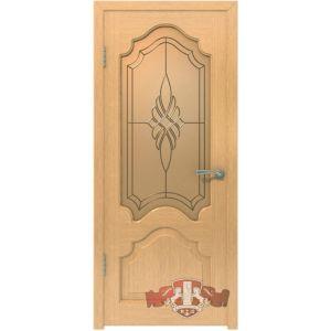 Венеция 11ДО1 (светлый дуб) межкомнатная дверь