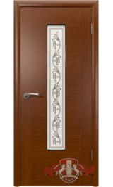 Рондо 8ДО2 макоре (красное дерево) межкомнатная дверь