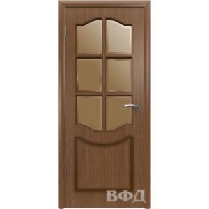 Классика 2ДР3* (орех) межкомнатная дверь