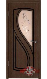 Грация 10ДО4 (венге) межкомнатная дверь